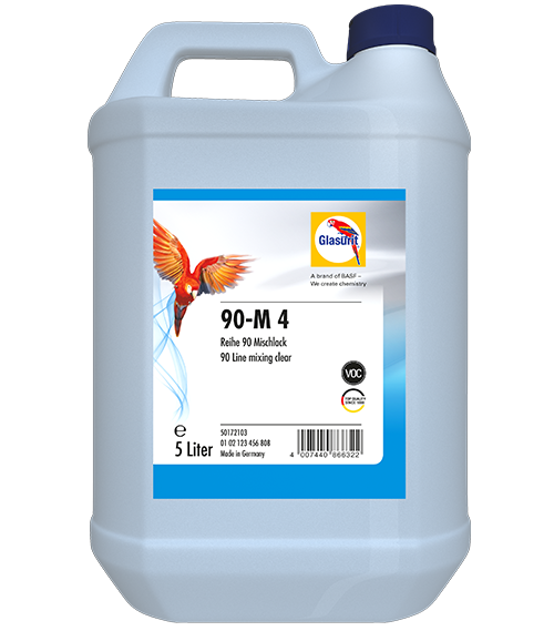 Glasurit 90-M 4 slow / lento- 5 ltr