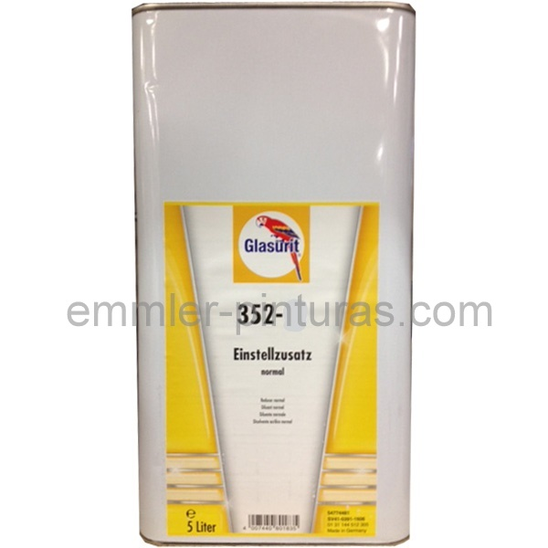 Glasurit  Thinner Slow ( lento ) 352-216 - 5 ltr